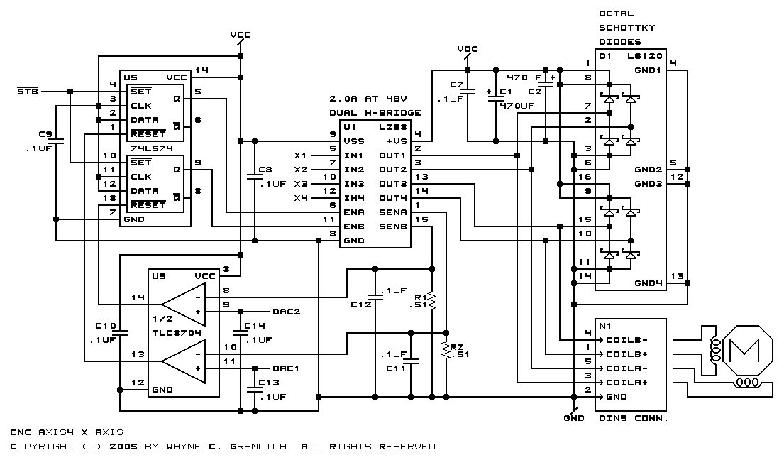 L298n Stepper Motor Driver Schematic Automotivegarage Org