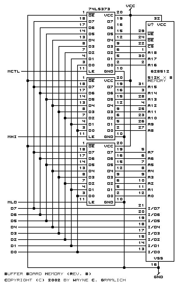 cnc controller buffer board  rev  b