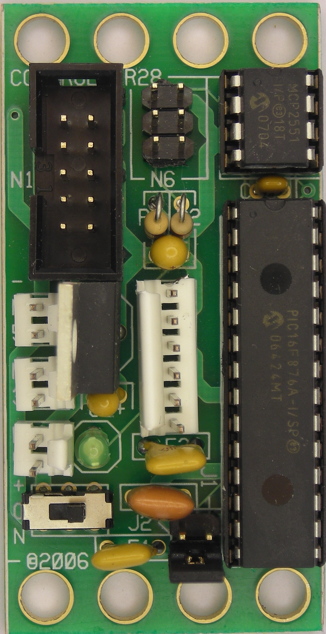 controller28 module (revision d)Programmer Adapter In Circuit Serial Programming Icd2 Rj11 To Dip #21