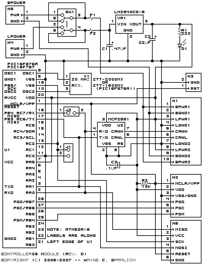 controller28 module  revision d