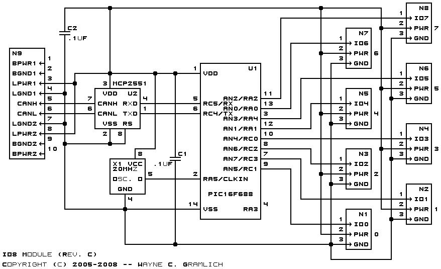 io8 module  revision c