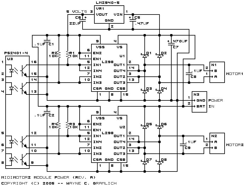 midimotor2 module  revision a