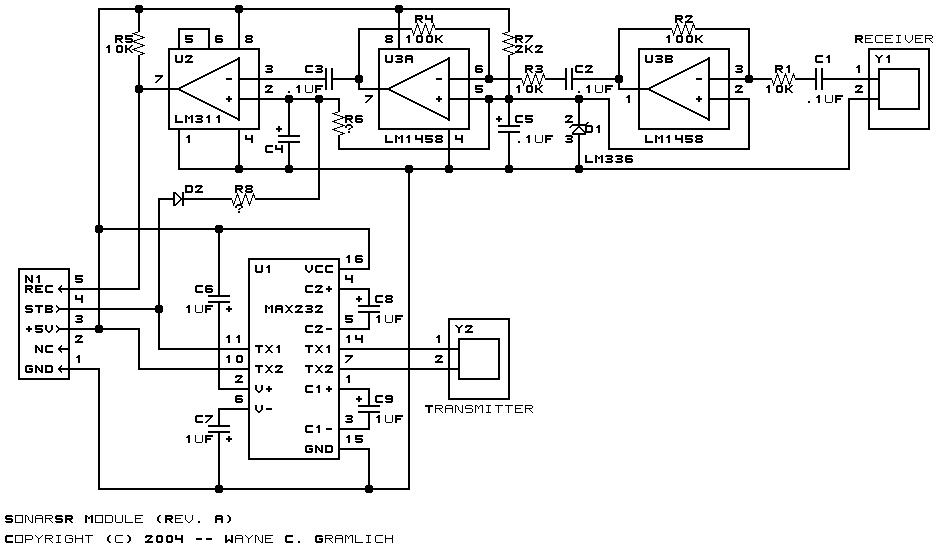 sonarsr module  revision a